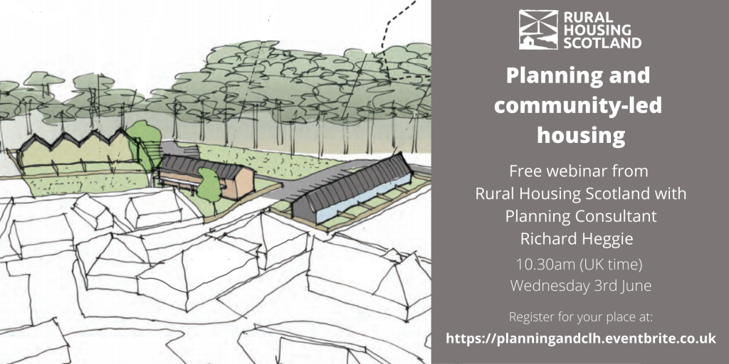 Planning and community-led housing advert