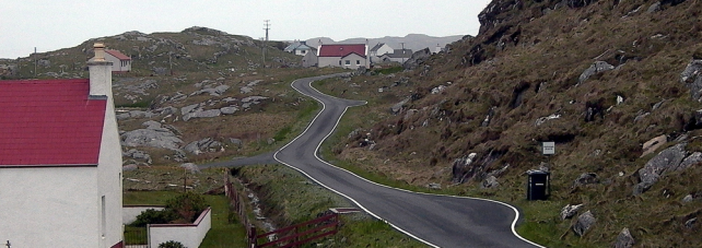 Ring road on Barra