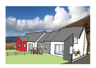 Ulva Ferry Community Housing (Copyright Thorne Wyness Architects)